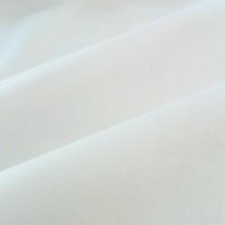 Tessuto Pelleovo Puro Cotone - Bianco Ottico - Altezza 3 metri