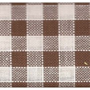 Rustichella Quadrettato 1x1 cm - Altezza 180 cm  - Marrone
