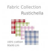 Rustichella Checkered Fabric Collection