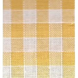 Rustichella Quadrettato 1x1 cm - Altezza 180 cm  - Giallo