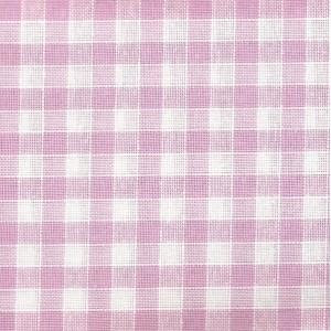 Rustichella Checkered Fabric 1x1 cm - Width 180 cm -  Lilac Color 338