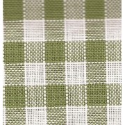Rustichella Quadrettato 1x1 cm - Altezza 180 cm  - Verde 303