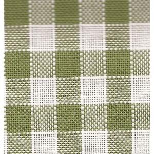 Rustichella Tejido a Cuadros 1x1 cm - Ancho 180 cm - Verde 303