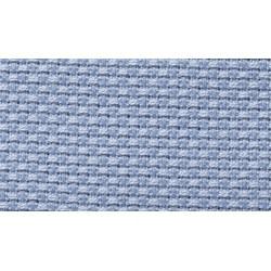 Tela Aida Puro Cotone - Altezza 140 cm - Celeste