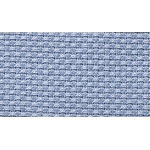 Aida Fabric Pure Cotton - Width 140 cm - Light Blue