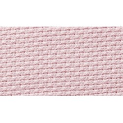Aida Fabric Pure Cotton - Width 140 cm - Pink