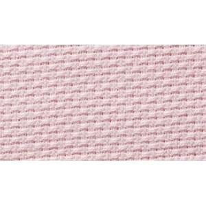 Aida Fabric Pure Cotton - Width 140 cm - Pink