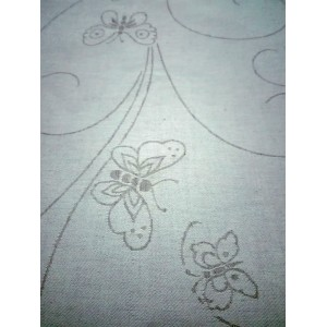 Fratelli Graziano - Tablecloth Fabric - Butterflies