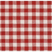 Colonia Red Chicken Scratch Fabric