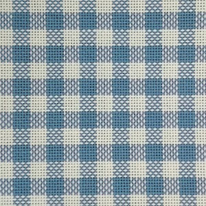 Cotton Fabric - Colonia - Light Blue Squares