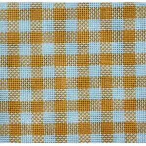 Colonia Cotton Square Fabric - Gold Yellow - 90x90cm