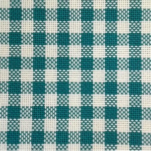 Colonia Cotton Square Fabric - Turquoise - 90x90cm