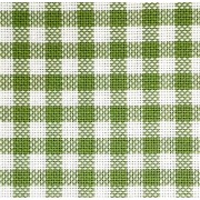 Colonia Green Chicken Scratch Fabric