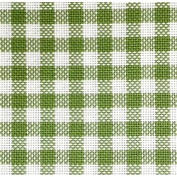 Colonia Cotton Square Fabric - Green - 90x90cm