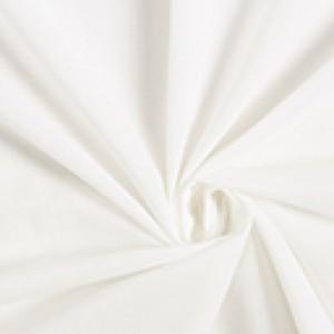 Batista di Cotone - Bianco  - Altezza 120 cm