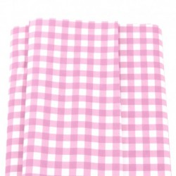 Patchwork Fabric Pink Gingham