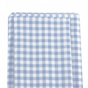 Patchwork Fabric Light Blue Gingham