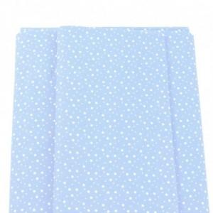 Tejido Patchwork - Azul con Estrellas Blancas