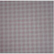 Tejido de Algodon - Cuadros Pequeños Rosa