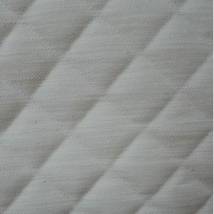 Tessuto in Cotone Trapuntato Etna - Colore Panna