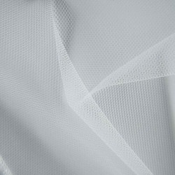 White tulle fabric - Height 300 cm