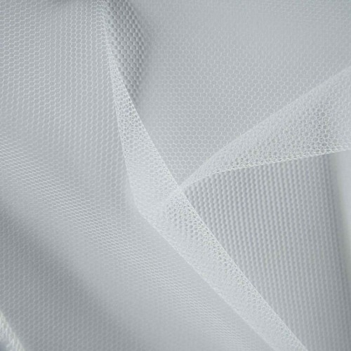 Tessuto Tulle Bianco - Altezza 300 cm