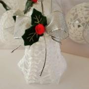 Campana de Crochet - Navidad
