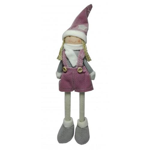 Bambina Invernale - Vestiti Rosa Antico