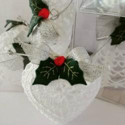 Christmas Crochet Heart