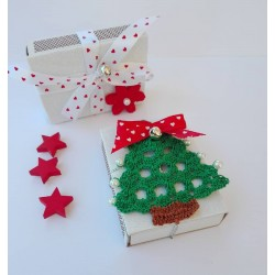 Christmas Matchbox - Crochet Christmas Tree