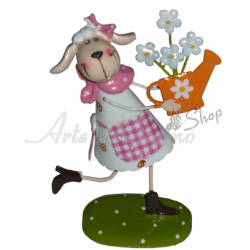 Decoraciones de Pascua - Oveja de Estaño