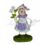Easter Decorations - Tin Sheep