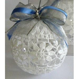 Crochet Bolas de Navidad