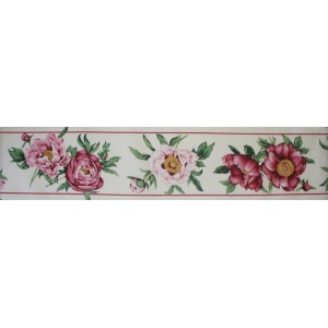 Fabric Border - Roses