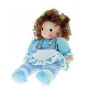 Stitchable Doll with Music Box - Claire