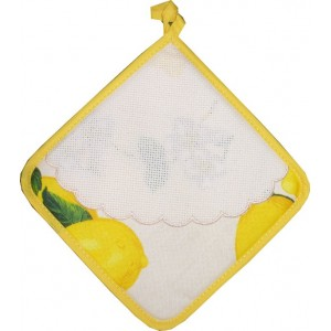 Square Potholder - Lemon