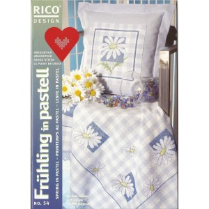 Cross Stitch Magazine - Rico Design n.54