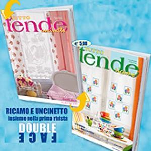 Revista Mani di Fata - Todo Cortinas Bordado y Crochet